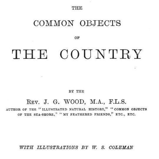 The Common Objects of the Country