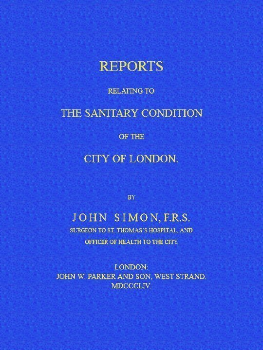 Reports Relating to the Sanitary Condition of the City of London