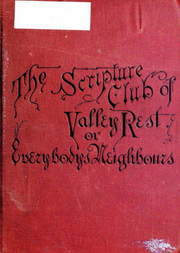 The Scripture Club of Valley Rest or Sketching of Everybody's Neighbours