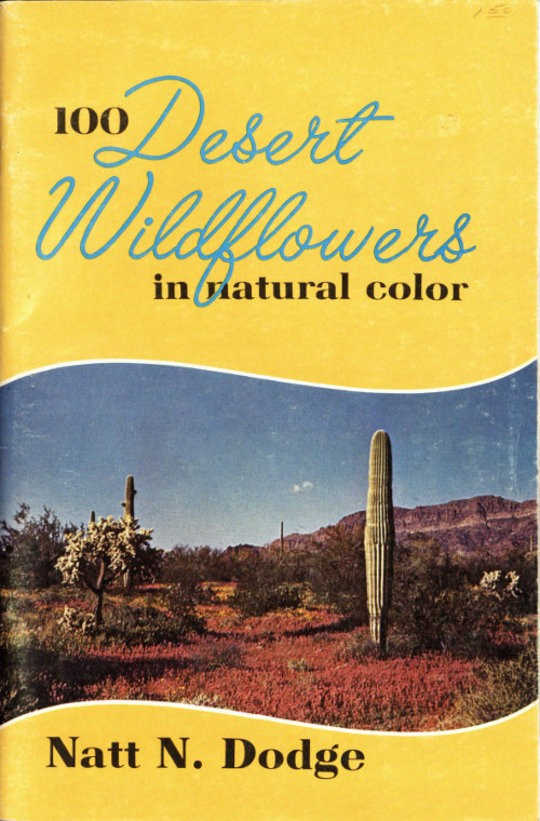 100 Desert Wildflowers in Natural Color