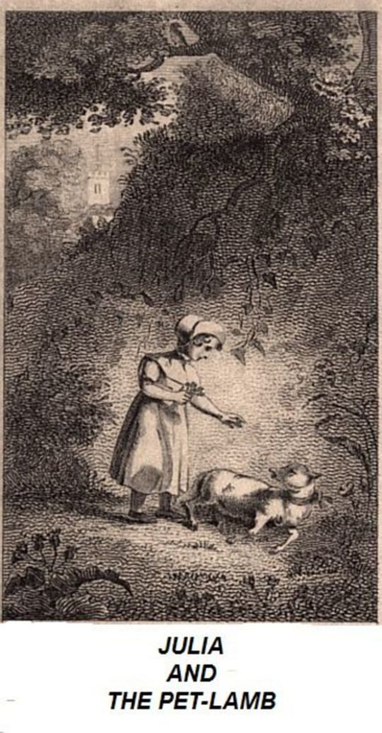 Julia and the Pet-Lamb or, Good Temper and Compassion Rewarded