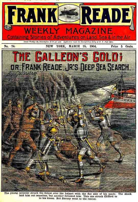 The Galleon's Gold or, Frank Reade, Jr.'s Deep Sea Search.