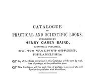 Catalogue of Practical and Scientific Books