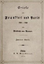 Briefe aus Frankfurt und Paris 1848-1849 (2/2)