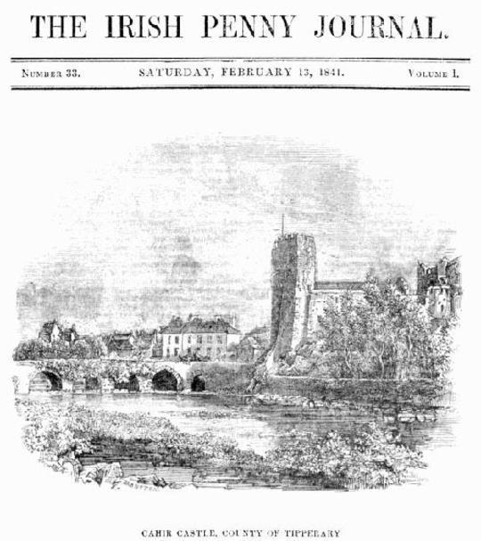The Irish Penny Journal, Vol. 1 No. 33, February 13, 1841