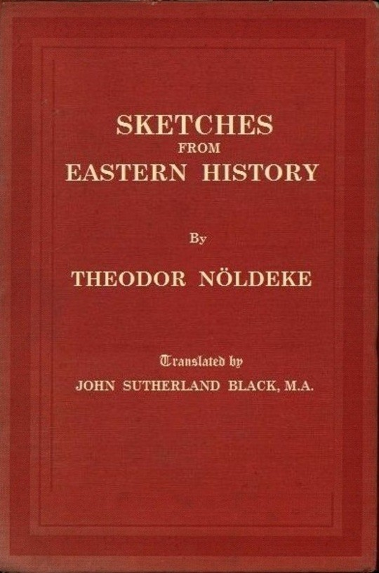 Sketches from Eastern History