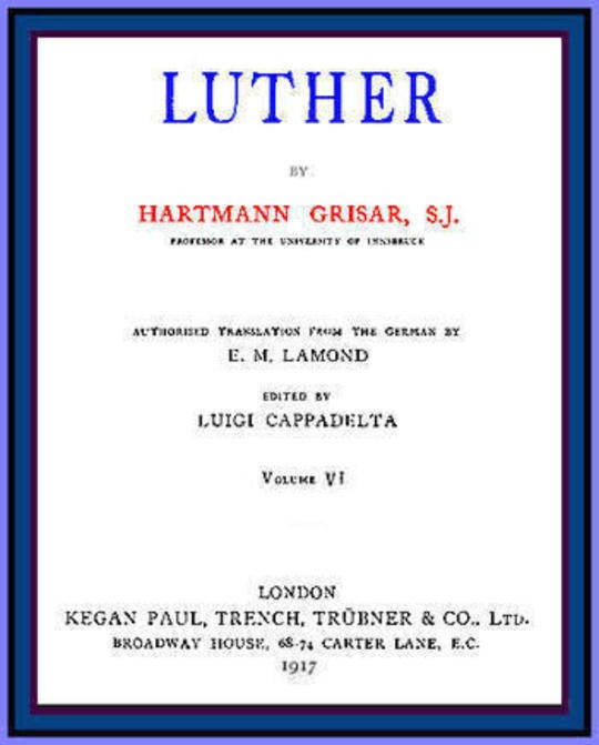 Luther, vol. 6 of 6