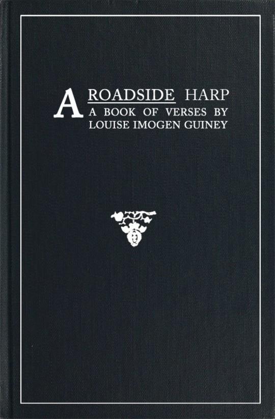 A Roadside Harp A Book of Verses