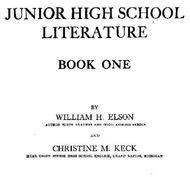 Junior High School Literature, Book 1