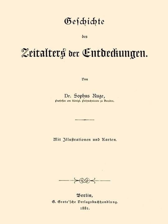 Geschichte des Zeitalters der Entdeckungen
