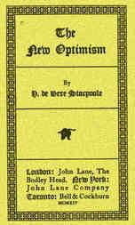 The New Optimism