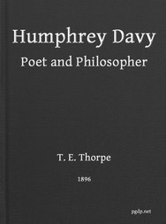Humphry Davy Poet and Philosopher