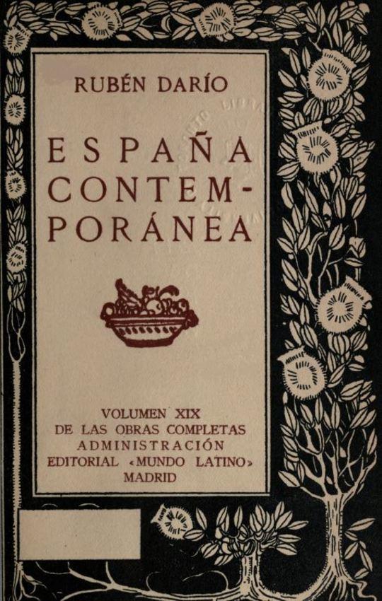 España Contemporánea Obras Completas Vol. XIX