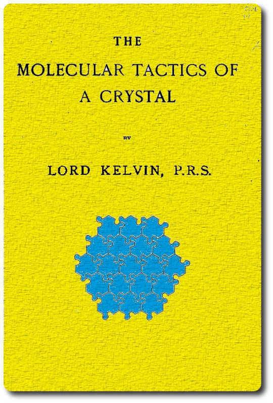 The Molecular Tactics of a Crystal