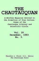 The Chautauquan, Vol. 04, December 1883