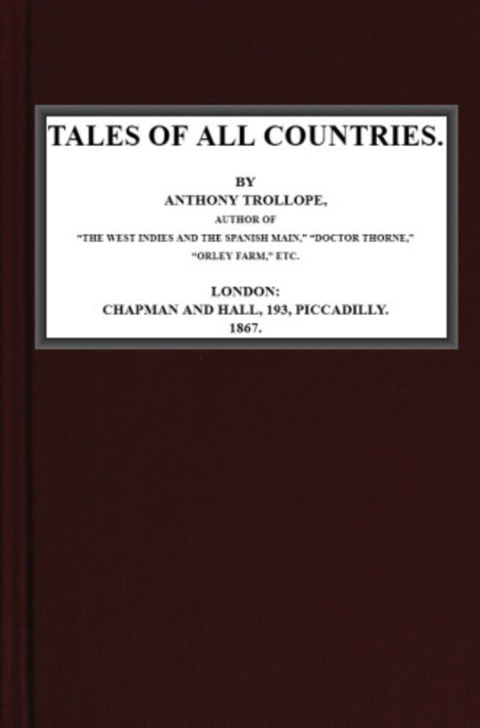 Tales of All Countries