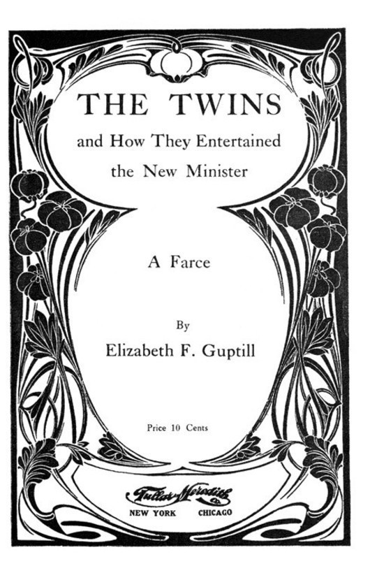 The Twins And How They Entertained the New Minister