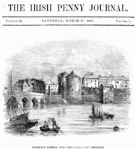 The Irish Penny Journal, Vol. 1 No. 39, March 27, 1841