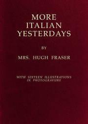 More Italian Yesterdays