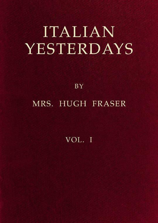 Italian Yesterdays, vol. 1