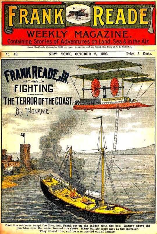 Frank Reade, Jr., Fighting the Terror of the Coast