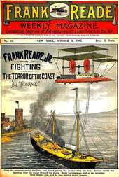 Frank Reade, Jr., Fighting the Terror of the Coast