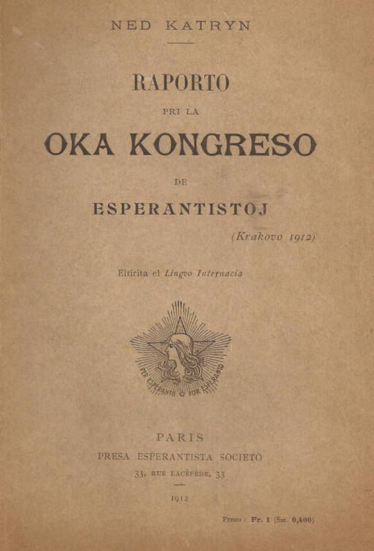 Raporto pri la oka kongreso de esperantistoj