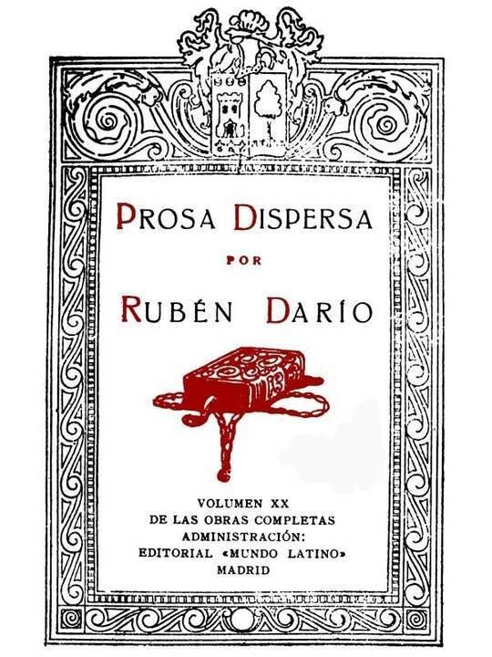 Prosa Dispersa Obras Completas Vol. XX