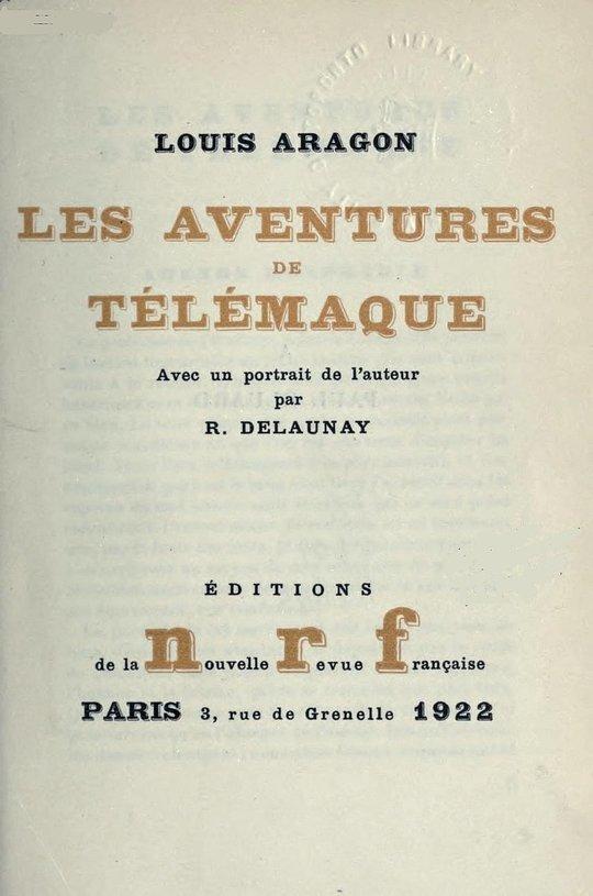 Les aventures de Télémaque