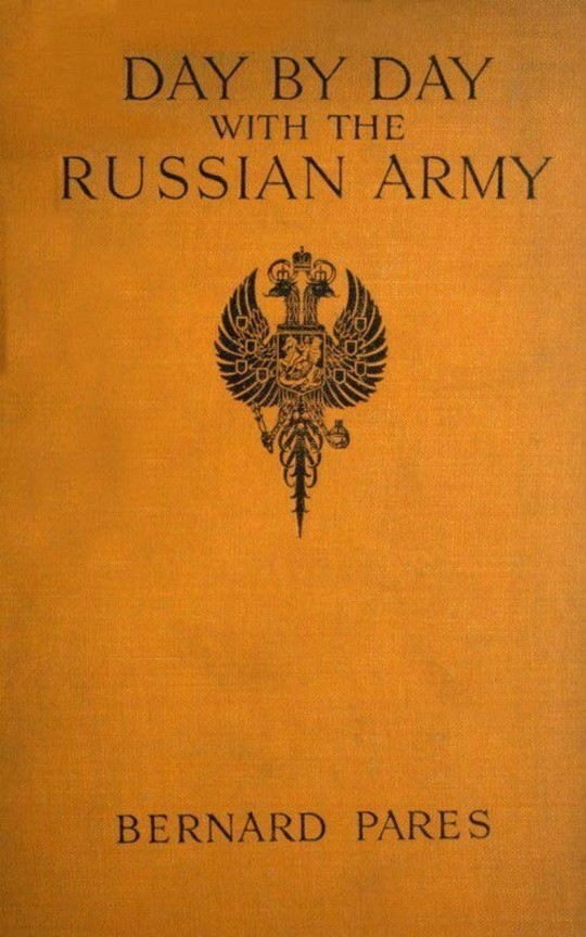 Day by Day With The Russian Army 1914-15