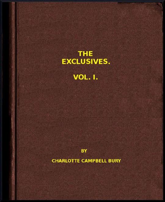 The Exclusives, Vol I.