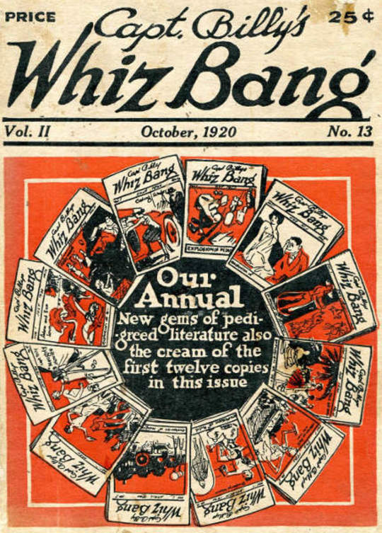Captain Billy's Whiz Bang, Vol. 2. No. 13, October, 1920 America's Magazine of Wit, Humor and Filosophy