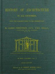 A History of Architecture in all Countries, Volume 1, 3rd ed. From the Earliest Times to the Present Day