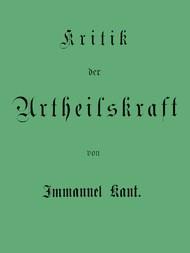 Kant's gesammelte Schriften Band V. Kritik der Urtheilskraft.