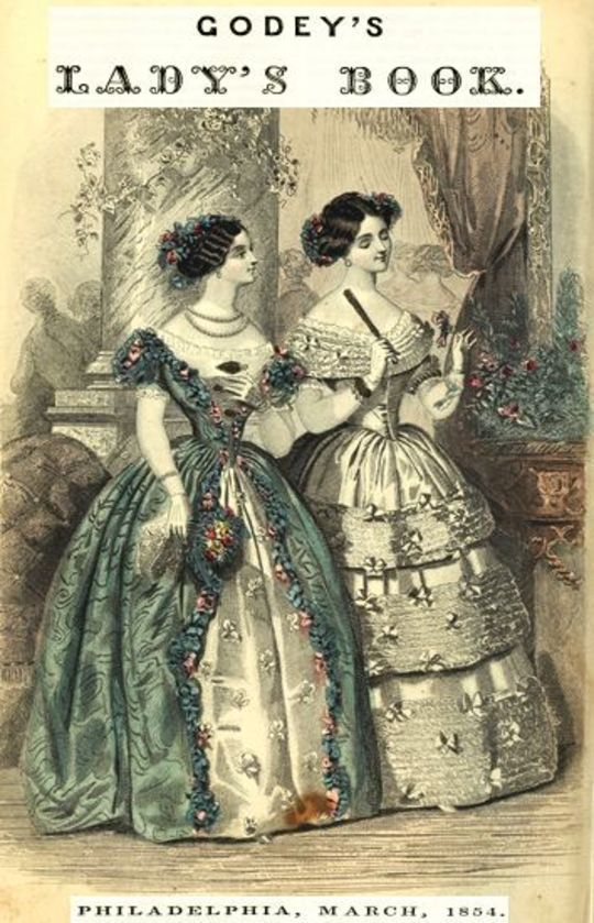 Godey's Lady's Book, Philadelphia, Volume 48, March, 1854