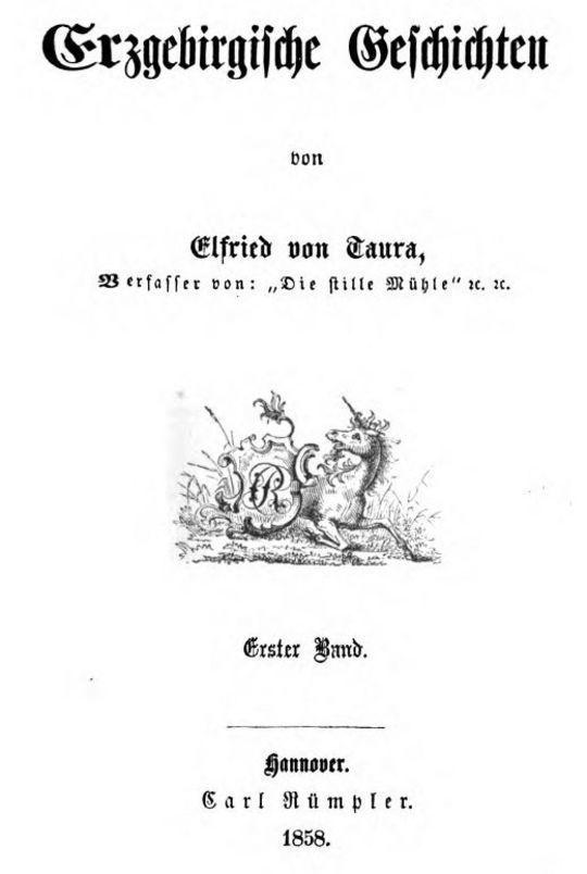 Erzgebirgische Geschichten. Erster Band