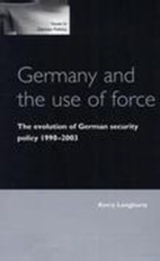 Germany and the Use of Force