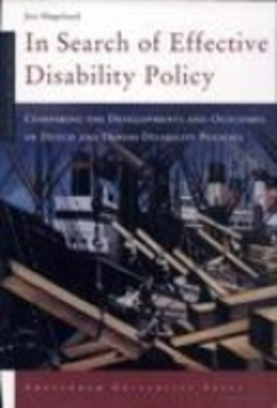 In Search of Effective Disability Policy