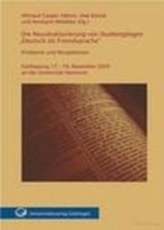 """Die Neustrukturierung von Studiengängen """"Deutsch als Fremdsprache"""""""
