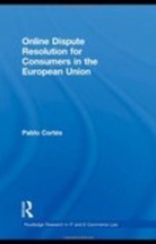 Online Dispute Resolution for Consumers in the European Union