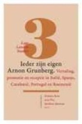 Ieder zijn eigen Arnon Grunberg