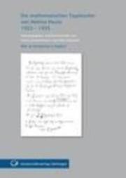 Die mathematischen Tagebücher von Helmut Hasse 1923-1935