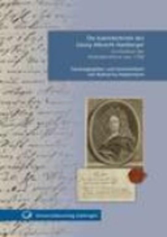 Die Kalenderbriefe des Georg Albrecht Hamberger im Kontext der Kalenderreform von 1700
