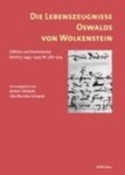 Die Lebenszeugnisse Oswalds von Wolkenstein: 1443-1447, Nr. 387-524