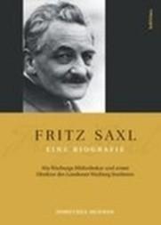 Fritz Saxl--eine Biografie