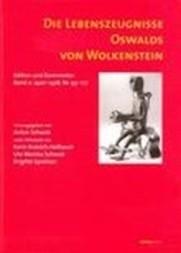 Die Lebenszeugnisse Oswalds von Wolkenstein: 1420-1428, Nr. 93-177