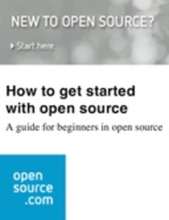 How to get started with open source: A guide for beginners in open source