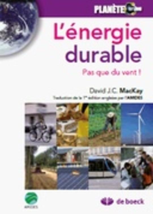 L'énergie durable — Pas que du vent !