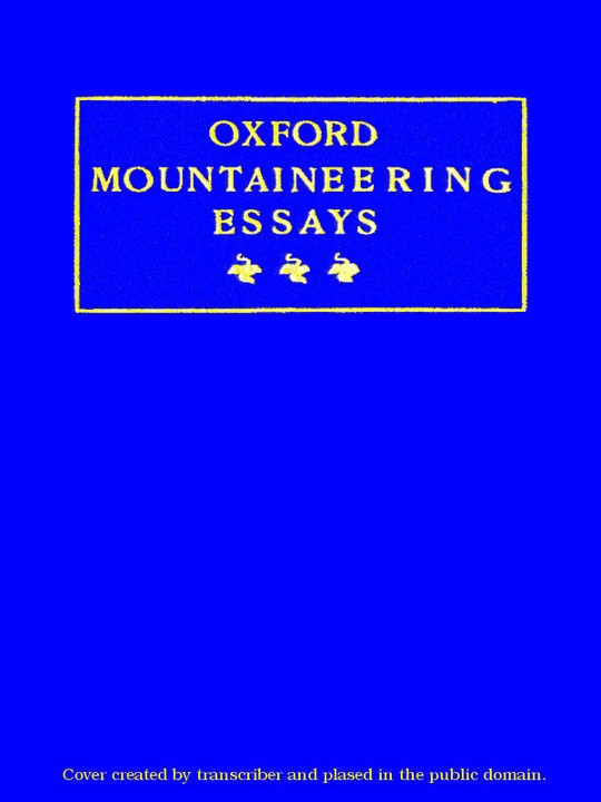 Oxford Mountaineering Essays