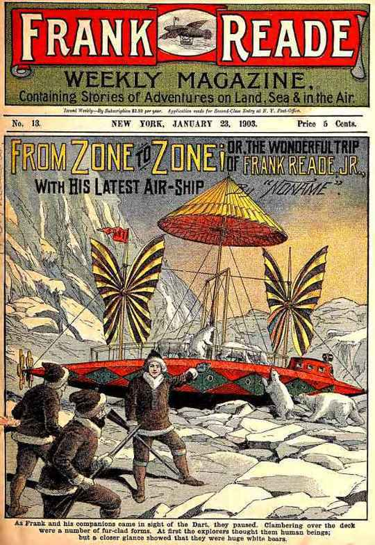 From Zone to Zone Or, The Wonderful Trip of Frank Reade, Jr., with His Latest Air-Ship